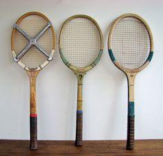 Vintage Tennis Racquets 1950s