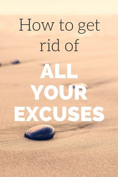 How to get rid of all your excuses @LewisHowes
