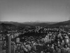 Bye Santiago. View from Sky Costanera . . . . #pb #bw #chile #santiago #santiagodechile #mountains #andes #cordilleraandes #blacknwhite_perfection #travelphotography #travelgram #bwtravel #fuji #fujifilmxseries #fujifilm #xe1