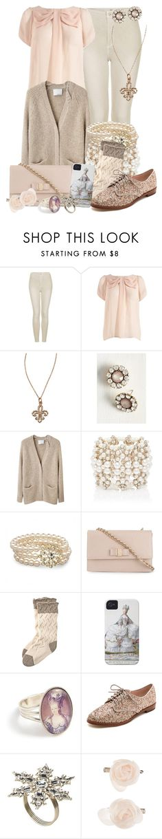 """""""Treasure in the Royal Tower"""" by detectiveworkisalwaysinstyle ❤ liked on Polyvore featuring Topshop, Lipsy, KC Designs, 3.1 Phillip Lim, Forever New, Jon Richard, Salvatore Ferragamo, Toast, Case-Mate and Kate Spade"""