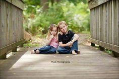 Brother and Sister. by ~Phamster. I like this pose Brother Sister Poses, Brother Sister Pictures, Brother Sister Photography, Sister Photos, Fall Family Pictures, Family Picture Poses, Family Posing, Family Pics, Family Portraits