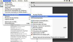 Previsualización de salida: visualizar el #color en #Adobe #Acrobat vía DesfaziendoEntuertos