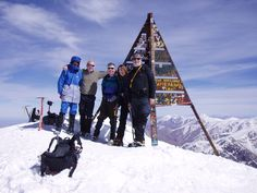challenge and summit its high peak of Toubkal
