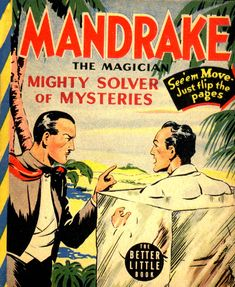Mandrake the Magician   Mandrake was created by Lee Falk. Falk's career began in advertising. He then moved to radio. His interest in magic led him to create a character who would solve crimes and mysteries through the use of reason and magic. King Feature Syndicate bought the idea and Mandrake debuted on June 11, 1934.