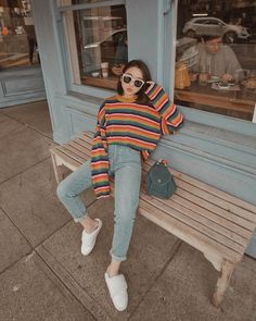 """15.3k Likes, 279 Comments - Vivid Wu (@vivid) on Instagram: """"♡ • sweater weather forever plsss • #wallhappenedtome #urbanoutfitters #uoonyou #sezane…"""""""