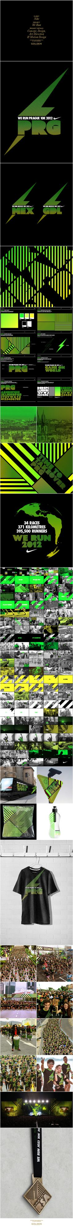 Nike We Run by Golden , via Behance