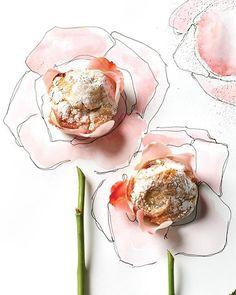 Sweet Paul's Rhubarb & Rosewater Macaroons