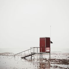 Melancholic Images of the Mediterranean Coast by Salva Lopez   La Costa Gris  by Salva Lopez a photographer and graphic artist based in Barcelona shows the melancholy that settles on the Mediterranean beaches during the winter season. The empty shores and grey skies are a stark contrast to the colourful summers and in these nostalgic images there is an anticipation of better and warmer days to come. See more of Lopezs work here and on Instagram.              #xemtvhay