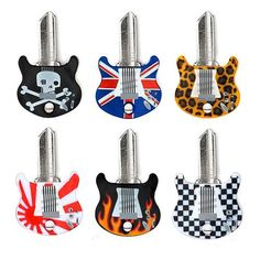 Cache-Clé Guitare Keytars