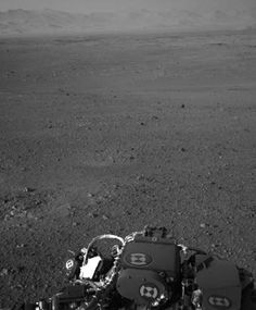 Mars Rover: First Panorama