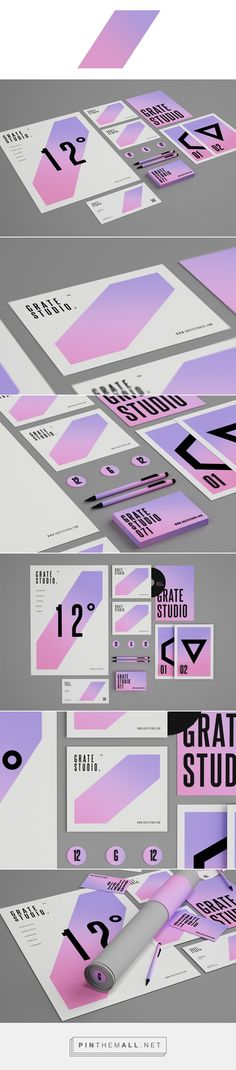 Grate Studio™ on Behance... - a grouped images picture - Pin Them All