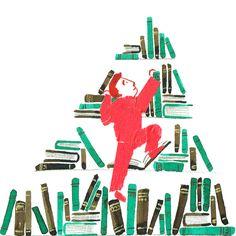 Ilaria Demonti on Behance #books #illustration #climbing