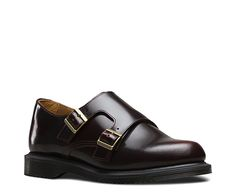 New for this season, the Pandora Double Monk Strap shoe is made from rub off Arcadia leather, which is designed to age and wear with time to create a heritage, two-tone look. The two straps are complimented with antique gold, functional buckles and elasticated inside for easy of entry. With a slimmer mid-sole and low heel, the Pandora is an effortlessly formal shoe. With classic Goodyear welting, the bouncy Airwair sole is oil-and-fat-resistant, hard wearing and offers good abrasion and…