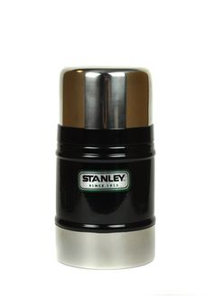 Stanley Classic Food Jar in Black. Thinking of getting this for my husband for Christmas....He loves morning oatmeal!