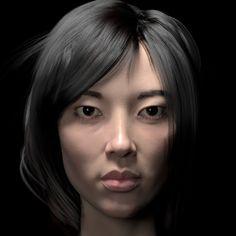 Kawaii Girl by Jakub Chechelski | Realistic | 3D | CGSociety