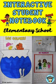 5 Reasons to Use Interactive Student Notebooks in Elementary Spanish Class                                                                                                                                                                                 More