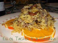 Eu os Tachos e a Cozinha: Arroz de Pato com laranja