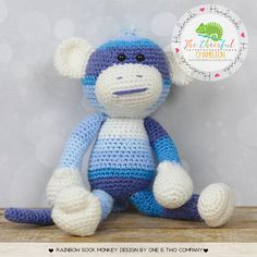 Crochet Monkey  Monk
