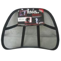 CAR SEAT BACK SUPPORT
