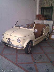 Vintage Fiat 500 Convertible