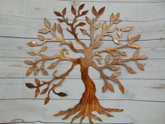 Olive Tree Of Life Metal Wall Art - https://michiganmetalartwork.com/shop/abstract/olive-tree-of-life-metal-wall-art/