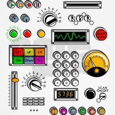 rocket ship control panel Google Search Astronaut