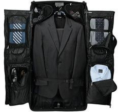 Jos. A. Bank Rolling Garment Bag, from 30 cool, handy and essential gadgets for the frequent traveller by Francesco Mugnai