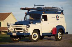 Calamity Jane's baby sister – 1957 S-120 International Civil Defense Rescue Vehicle
