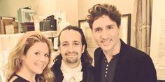 Justin Trudeau Geeks Out With 'Hamilton' Creator... #Hamilton: Justin Trudeau Geeks Out With 'Hamilton' Creator Lin-Manuel… #Hamilton