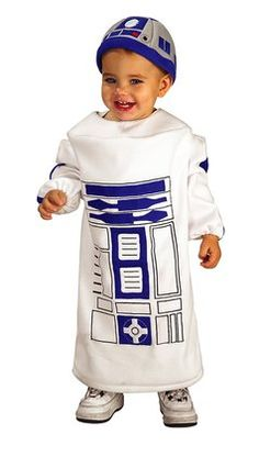 R2D2 baby costume $23.99