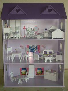Estilo Moderno Caballeros artículos colonia mostrar miniaturas casa de muñecas
