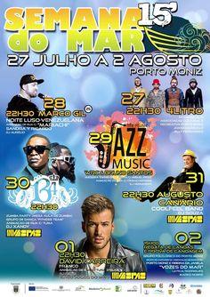 Semana do Mar Porto Moniz de 27 de julho a 2 de agosto