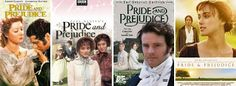 Loved all versions of Pride and Prejudice  Ax