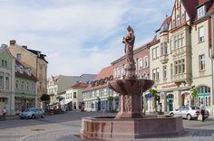 Die Sperlingsida in Stendals Innenstadt