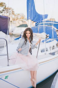 Photoshoot on the boat, SoCal