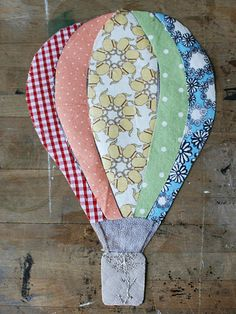 hot air balloon applique tutorial