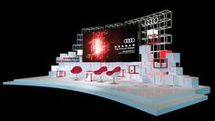 Audi Innovation Lab 2017 CONCEPT on Behance Stand Design, Booth Design, Concert Stage Design, Audi, Corporate Event Design, Innovation Lab, Exhibition Stall, Studio Setup, Design Language