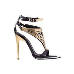Magic Sandals by Roberto Cavalli ❤ liked on Polyvore featuring shoes, sandals, roberto cavalli, roberto cavalli shoes and roberto cavalli sandals