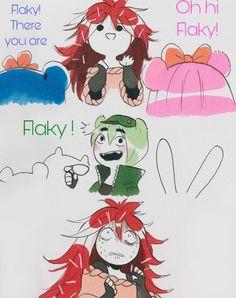Happy Tree Friends Flippy, Htf Anime, Casa Anime, Adult Cartoons, Otaku, Kids Shows, Anime Love, Art Drawings, Fanart