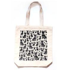 Gorgeous Scottie dog print cotton eco friendly tote bag. �10.50