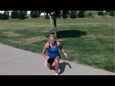Lean Legs workout. 5 simple moves for 20 sec. each. No equipment needed.