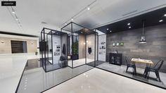 Recorre PORCELANOSA Grupo a través de la pantalla y en visita virtual↓ #arquitectura #interiorismo