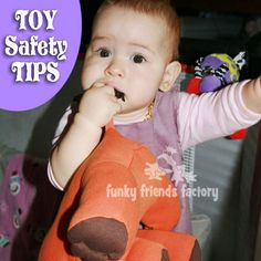 Toy Safety Tips for home made toys. | Funky Friends Factory