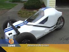 Teenager Builds Electric Car - $.02 a mile to operate!. Tyler Griffin reports on a 19 year-old who decided to build an electric car to save money on parking and gas at his high school. Mark King is the young inventor behind the electric car which only costs two cents a mile to operate.