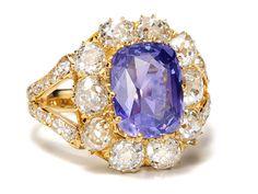 Magnificent! Color Shift Purple Sapphire, No Heat