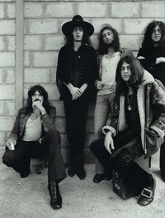 Deep Purple , Jon Lord , Ritchie Blackmore , Roger Glover , Ian Gillan and Ian Paice. Heavy Rock, Heavy Metal, Deep Purple, Rock Bands, Beatles, Disco 80, Roger Glover, Jon Lord, El Rock And Roll