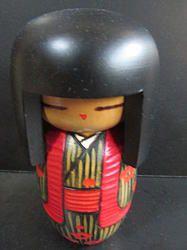 Sosaku Okappa pige  #kokeshi #dukker #japan #japanske_dukker  Til salg / for sale at   mariannepetersen.wix.com/kokeshi