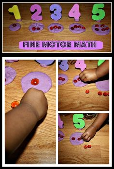 Fine Motor Math Play