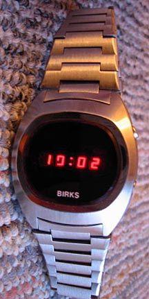 Birks LED Watch (4) Led Watch, Digital Watch, Watches, Vintage, Wristwatches, Clocks, Vintage Comics