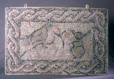 Mosaico de pájaros del Faro de Torrox . Imagen que ilustra la ficha informativa